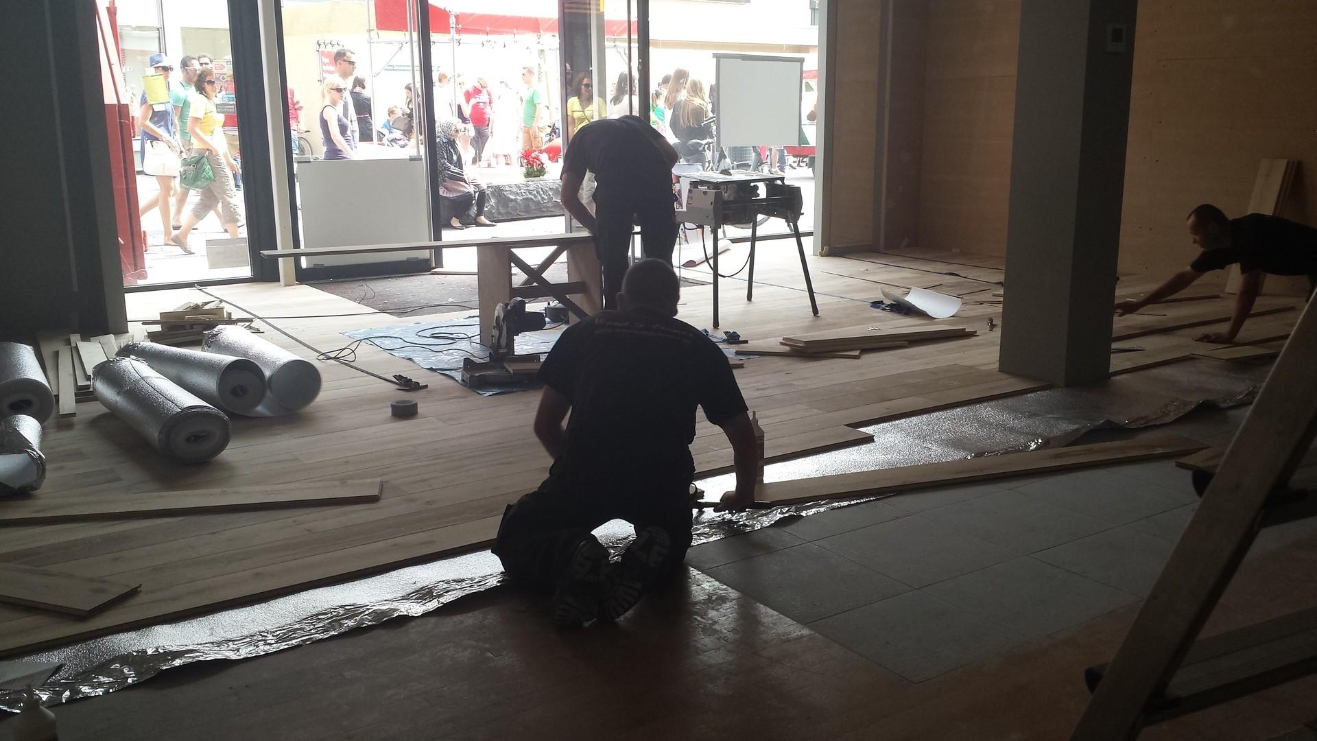 Ondervloeren voor parket en houten vloeren specialist in hout natuursteen en antieke - Tegels gemetalliseerde ...