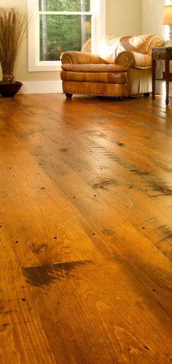 Rustieke douglas pine vloerdelen 28cm breed