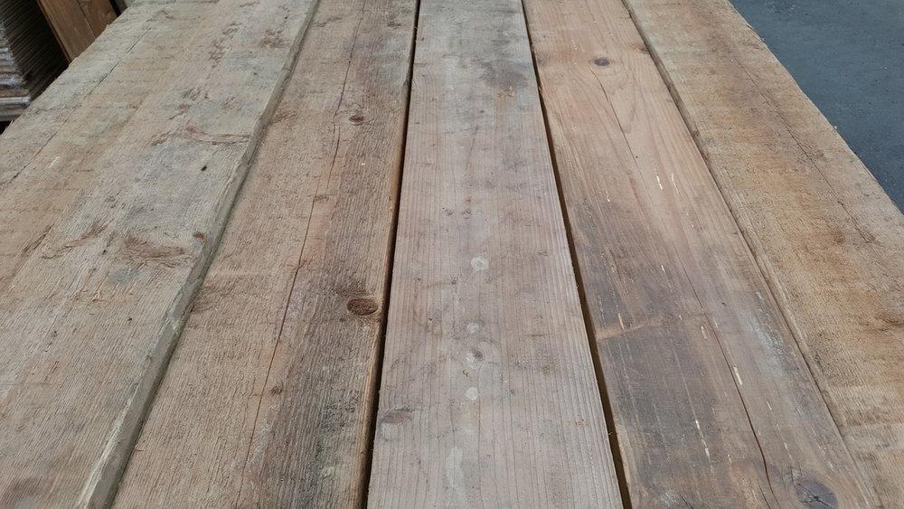 Antieke grenen planken 35mm dik 170mm breed