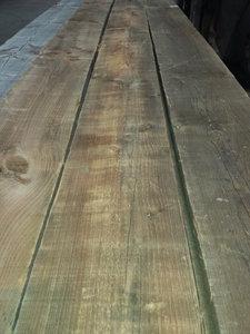 Antieke grenen planken 240mm breed