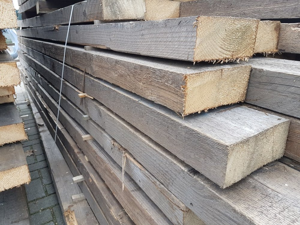 Altholz Antike Kiefer Balken 80x180mm