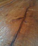 Eiken 40 cm brede vloerdelen! verouderd, geborsteld en antiek geolied_