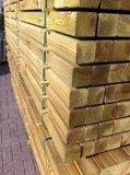 Geimpregneerde balken 50x70mm geschaafd _