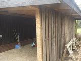 Antieke houten PANELEN 75cm breed 300cm hoog_