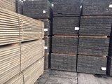 140 pieces scaffolding boards 30x200mm 3.00m Old gray_