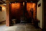 Bourgondische dallen Cathedraal, natuursteen tegels Sand, groot romaans verband_