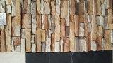 WANDBEKLEDING STRIPS steen Ecopiedra_