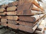 117 stuks hardhout rondhoek planken 35x120 mm x 250 cm_
