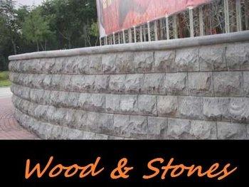 Granit Mauersteine Wandverkleidung