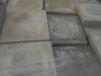 Oude tegels wit 20x20cm