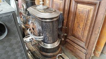 Antieke houtkachels diverse modellen zie foto's