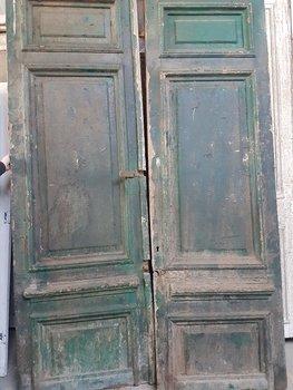 Antieke dubbele deur 170 x 262 cm