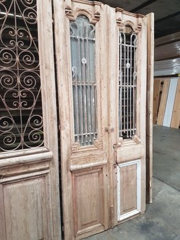 Antique double door 110 x 240 cm