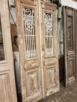Antique double door 108 x 236 cm