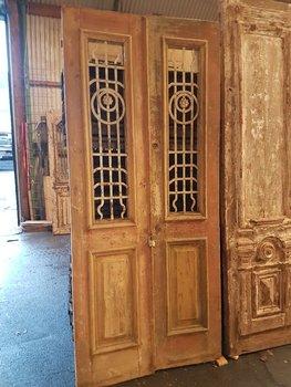 Antieke dubbele deur 105 x 240 cm