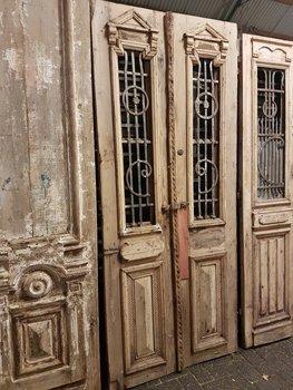 Antieke dubbele deur 100 x 233 cm