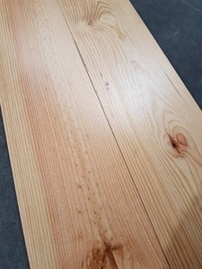 90,1 m2 pine floor oiled natur 170mm wide