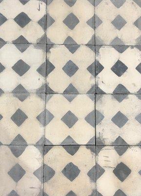 Antieke cement tegels  20x20cm
