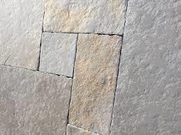 400m2 Bourgondische dallen Cathedraal, natuursteen tegels Groot romaans verband