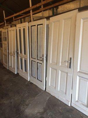 Oude paneeldeuren