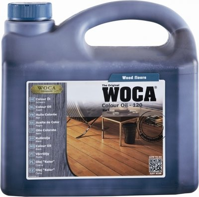 Woca Color Oil Black 2,5lt