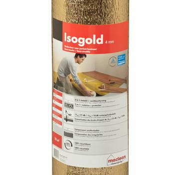 Isogold ondervloer 10m2 per rol