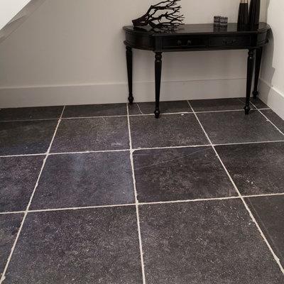Belgisch hardsteen tegels 60x60cm