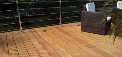 Douglas vlonderplanken Decking 25x145mm