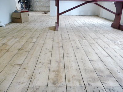 Old antique pine floorboards various widths