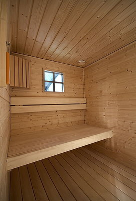 Nordisch fichte schroten, saunaschroten