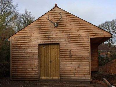 Keilspundprofil Holz, Profilbrette 3.00m lang