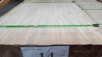 Bankirai hartholz Balken Unterkonstruktion 40x60mm gehobeld 3.90m