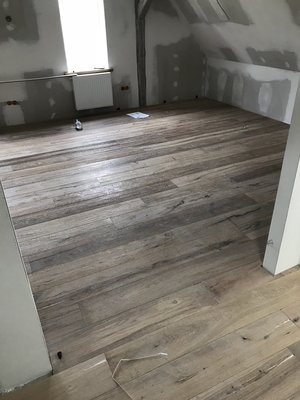 147m2 Aged Oak floortiles, multilayer aged and ready oiled