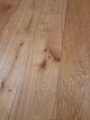 33.4 m2 Oak Floor Multitop oiled