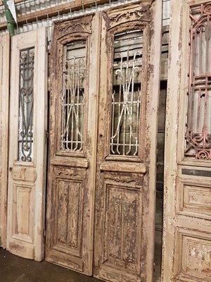 Antique double door 110 x 242 cm