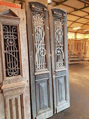 Antique double door 110 x 255 cm