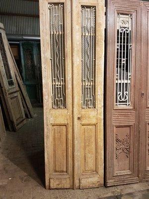 Antieke dubbele deur 79 x 245 cm