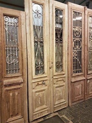 Antique double door 116 x 280 cm