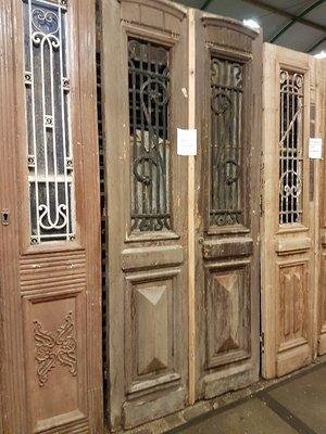 Antique double door 113 x 247 cm
