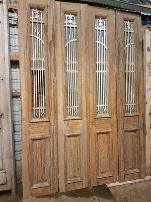 Antieke 4 slag deur 194 x 272 cm