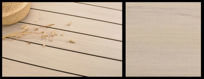 BPC Decking Boards Ipe Cream