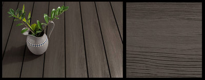 BPC Decking Boards Ebony