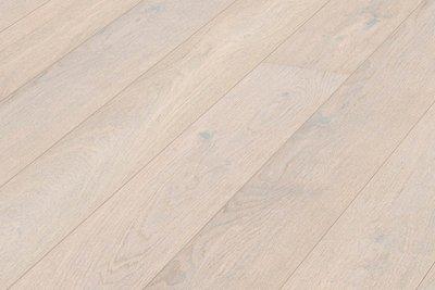 Eiken vloer, lamelvloer kant & klaar geolied white!