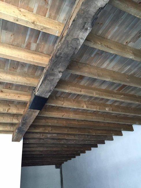 Dakbeschot, dakplanken Grenen hout 18mm dik TOPAANBIEDING!