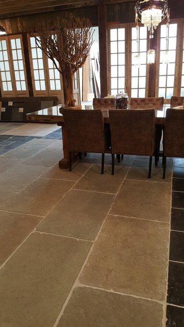 Bourgondische dallen Cathedraal Romaans verband Sand