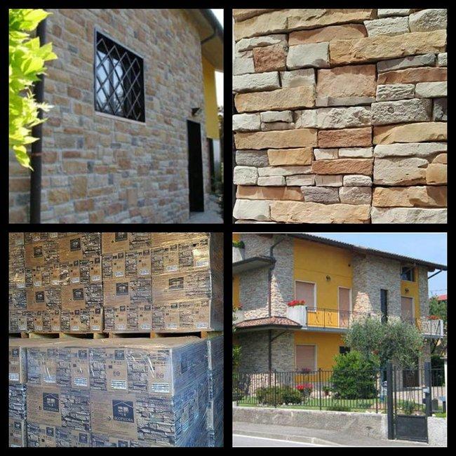 GEVELBEKLEDING- WANDBEKLEDING Ecopiedra steen per pallet 20m2