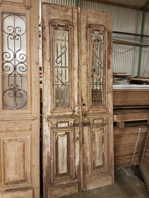 Antieke dubbele deur 100 x 240 cm