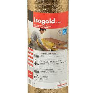 Isogold ondervloer 10m2 per rol specialist in hout natuursteen en antieke bouwmaterialen - Tegels gemetalliseerde ...