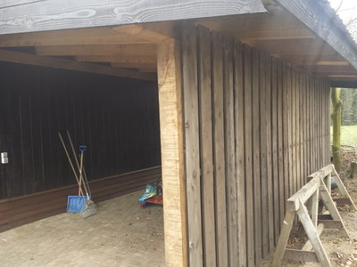 Dikke houten panelen