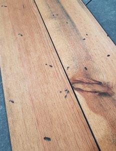 21.84 m2 Massieve pine vloer kant en klaar antiek verouderd en geolied